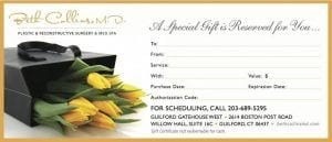 Beth Collins MD Gift Certificate Flower Design