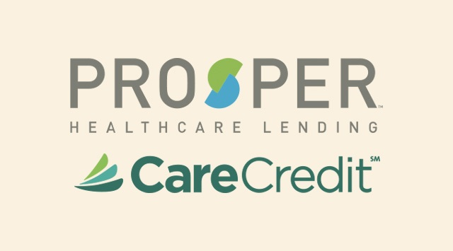 Prosper Healthcare Lending and CareCredit Logo