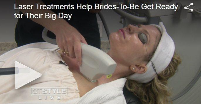 Laser treatments help brides-to-be get ready for their big day video
